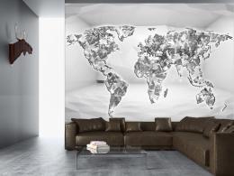 Murando DeLuxe Tapeta Diamantová mapa  - zvìtšit obrázek