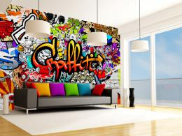 Murando DeLuxe Barevné graffiti tapeta na stìnu