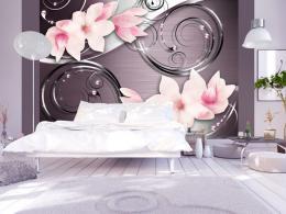 Murando DeLuxe Fototapeta rùžová magnolie  - zvìtšit obrázek