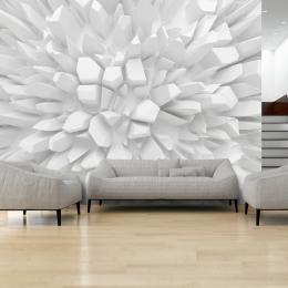 Murando DeLuxe 3D Rostoucí bílé krystaly