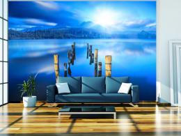 Murando DeLuxe Fototapeta Jezero v modrém  - zvìtšit obrázek