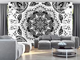 Murando DeLuxe Mandala bíloèerná  - zvìtšit obrázek