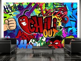 Murando DeLuxe Tapeta graffiti chili out