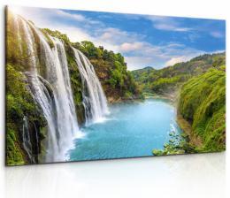InSmile ® Obraz vodopád v Èínì  - zvìtšit obrázek