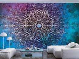 Murando DeLuxe Tapeta Mandala pampeliška - modrá  - zvìtšit obrázek