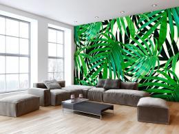 Murando DeLuxe Tapeta Tropické listy