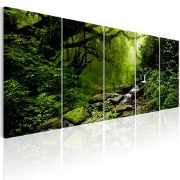 Murando DeLuxe Obraz - lesní øíèka  - zvìtšit obrázek