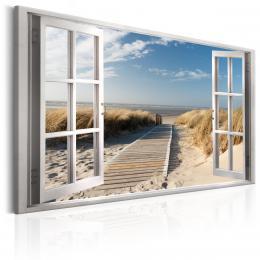 Murando DeLuxe Obraz Okno na pláž  - zvìtšit obrázek