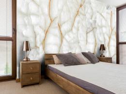 Murando DeLuxe Tapeta Bílý mramor Klasické tapety  50x1000 cm - vliesové