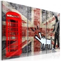 Murando DeLuxe Vícedílný obraz - Londýn