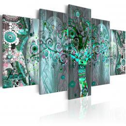 Murando DeLuxe Abstraktní obraz - Strom života mozaika