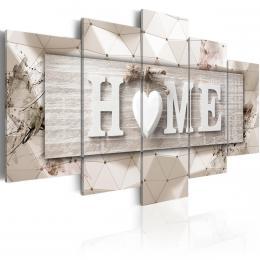 Murando DeLuxe Obraz Bílý domov  - zvìtšit obrázek