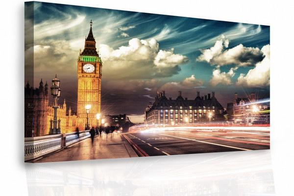 Malvis Jednodílný obraz - Londýn  - zvìtšit obrázek