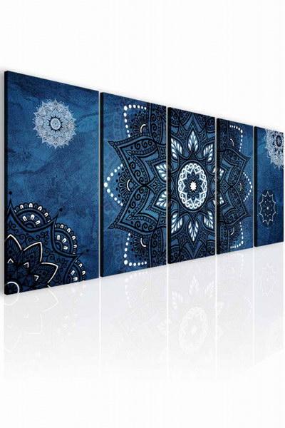 Malvis Obraz kouzelná mandala modrá  - zvìtšit obrázek