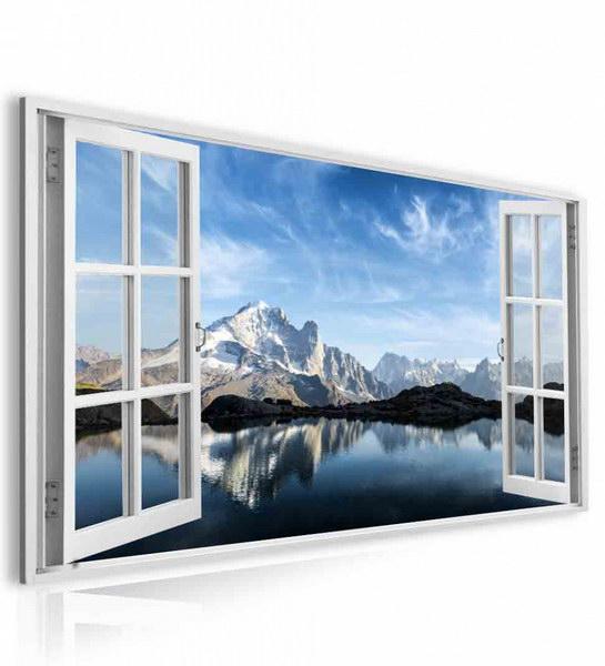 Malvis Obraz okno francouzské Alpy  - zvìtšit obrázek