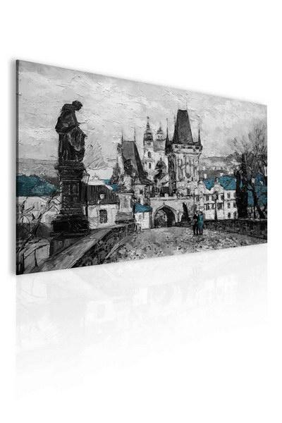 Malvis Obraz - Reprodukce Praha Karlùv most III  - zvìtšit obrázek