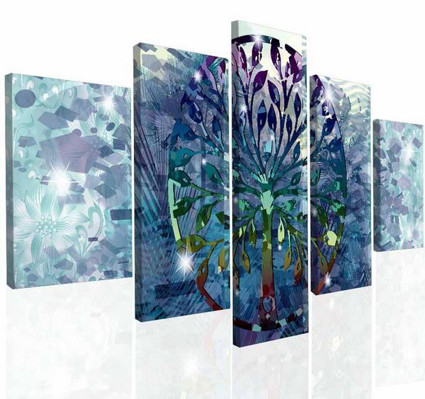 Malvis Obraz na zeï abstraktní strom II  - zvìtšit obrázek
