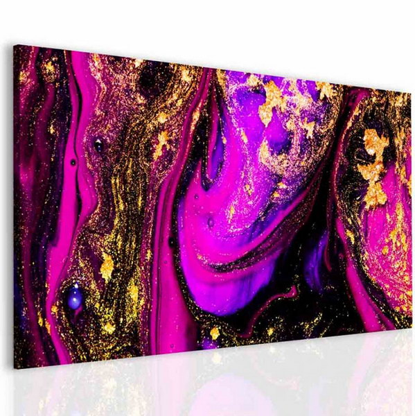 Malvis Obraz abstraktní fialová  - zvìtšit obrázek