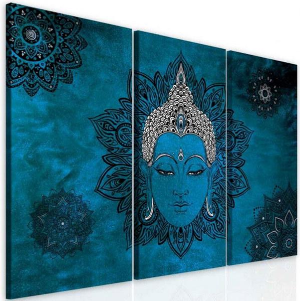Malvis Obraz mandala modrý Buddha  - zvìtšit obrázek
