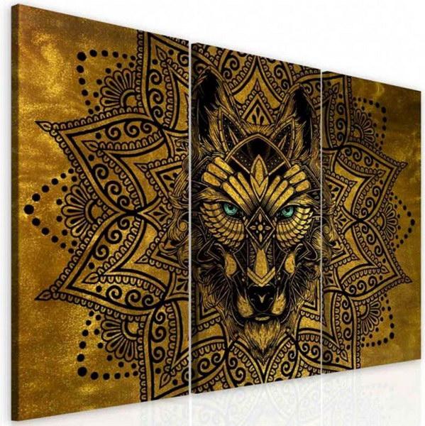 Malvis Obraz abstraktní vlèí mandala  - zvìtšit obrázek