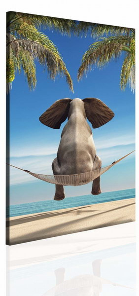 Malvis Obraz vtipný slon  - zvìtšit obrázek