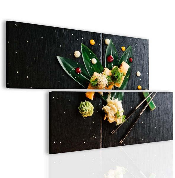 Malvis Dvoudílný obraz sushi  - zvìtšit obrázek