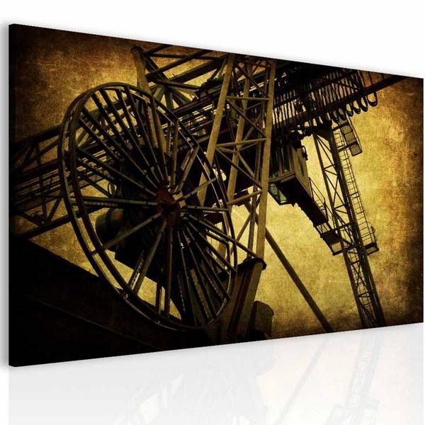 Malvis Obraz industriální motiv  - zvìtšit obrázek