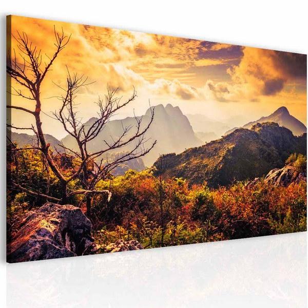 Malvis Obraz podzimní pohled na masiv hor  - zvìtšit obrázek