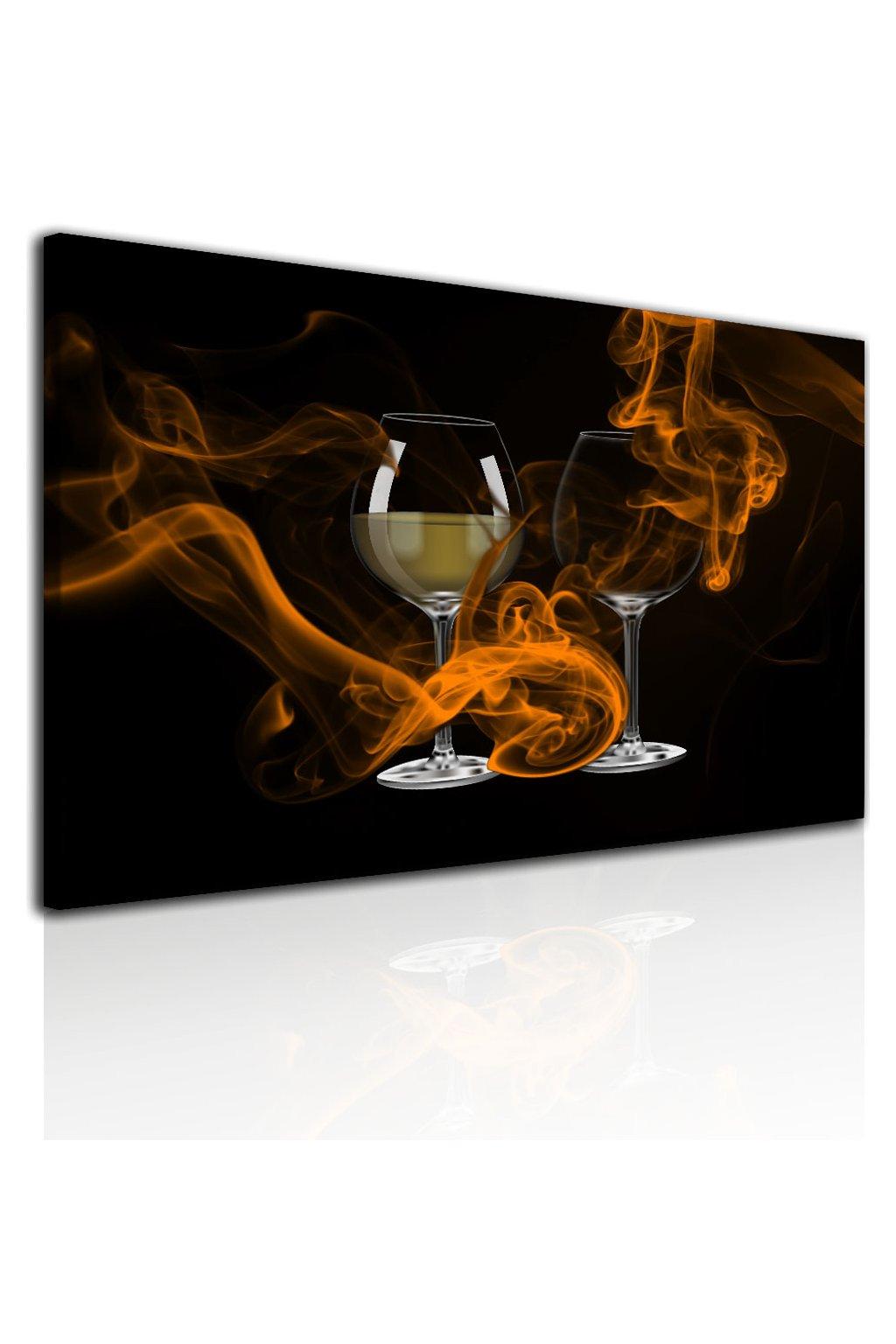Malvis Obraz Sklenice vína  - zvìtšit obrázek