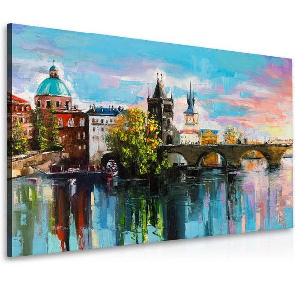 Malvis Obraz malovaný Karlùv most  - zvìtšit obrázek