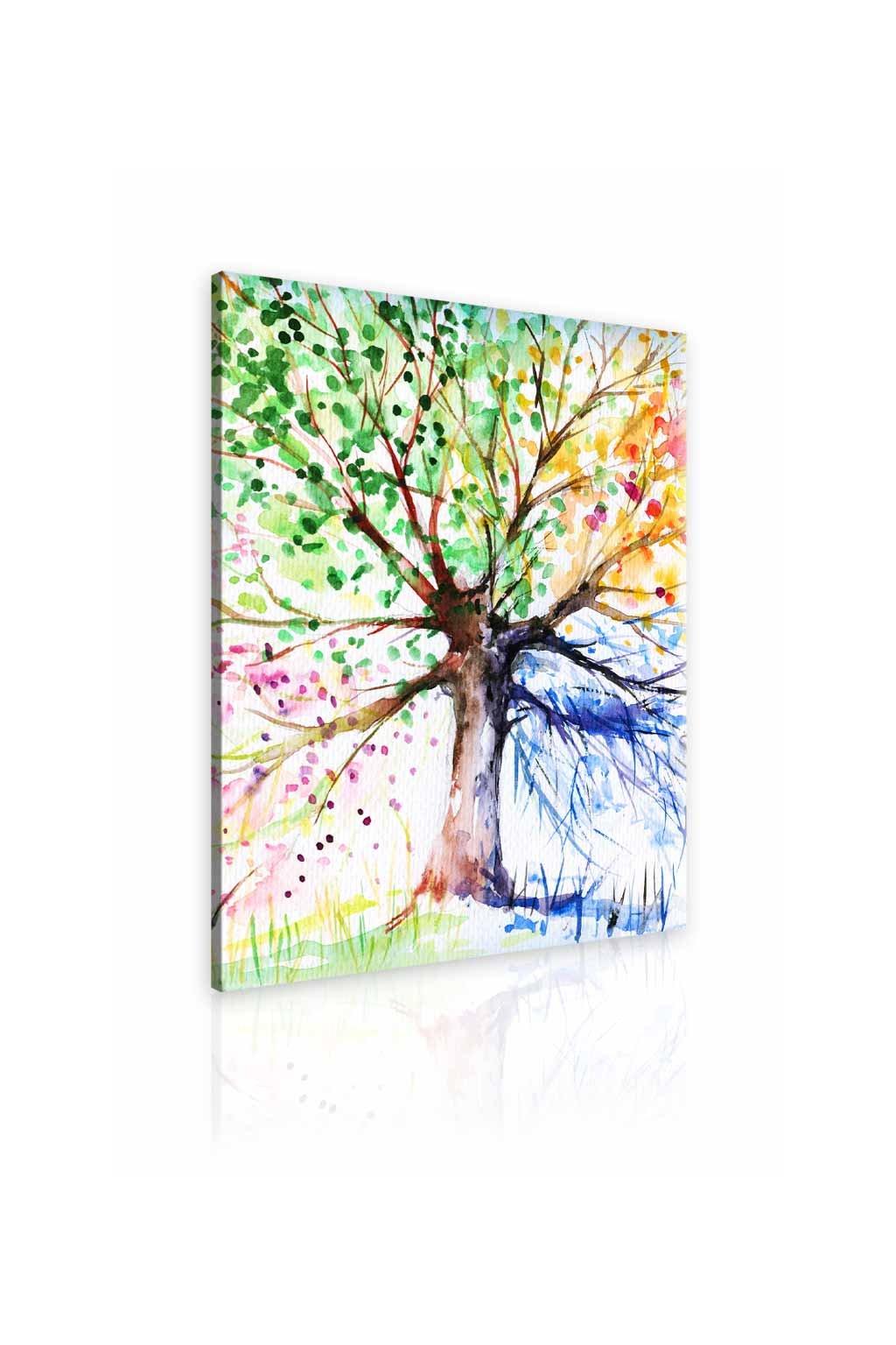 Malvis Obraz malovaný strom roèních období II  - zvìtšit obrázek