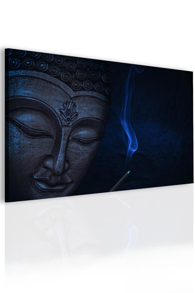 Malvis Obraz meditující Buddha - modrý  - zvìtšit obrázek