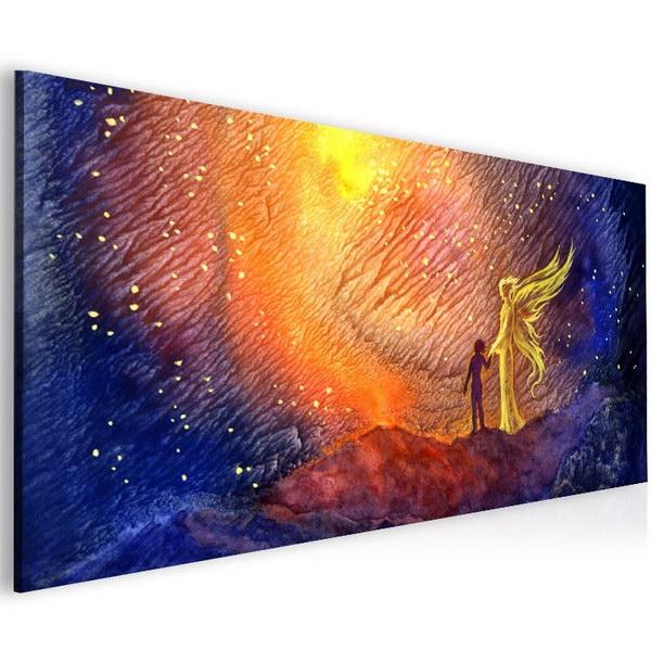 Malvis Abstraktní obraz andìlská pomoc  - zvìtšit obrázek