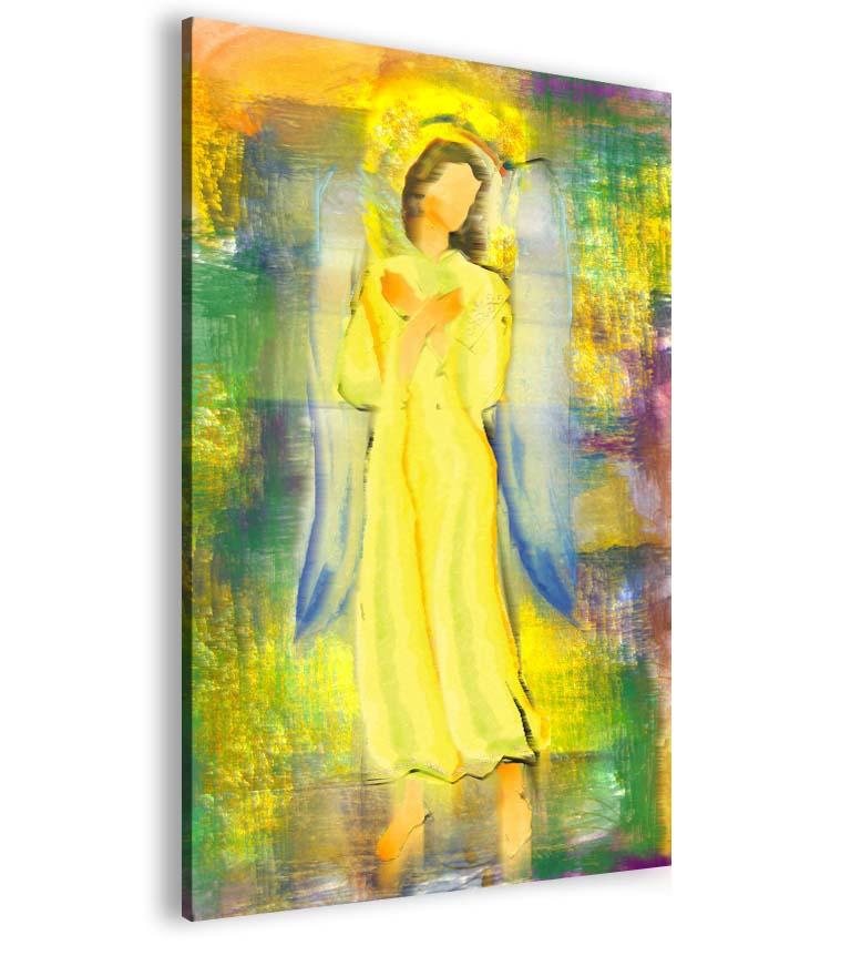 Malvis Abstraktní obraz sluneèní andìl  - zvìtšit obrázek