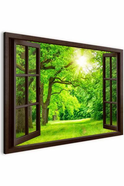Malvis Obraz jarní svìžest za oknem  - zvìtšit obrázek