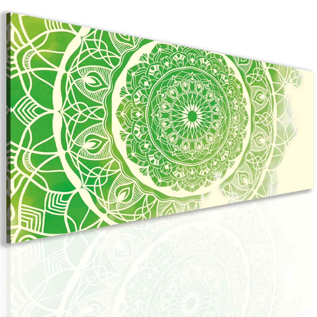 Malvis Obraz mandala green  - zvìtšit obrázek