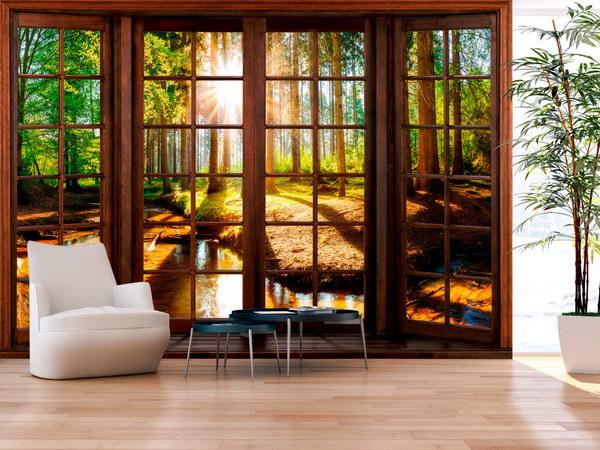 Murando DeLuxe 3D tapeta lesní terasa  - zvìtšit obrázek