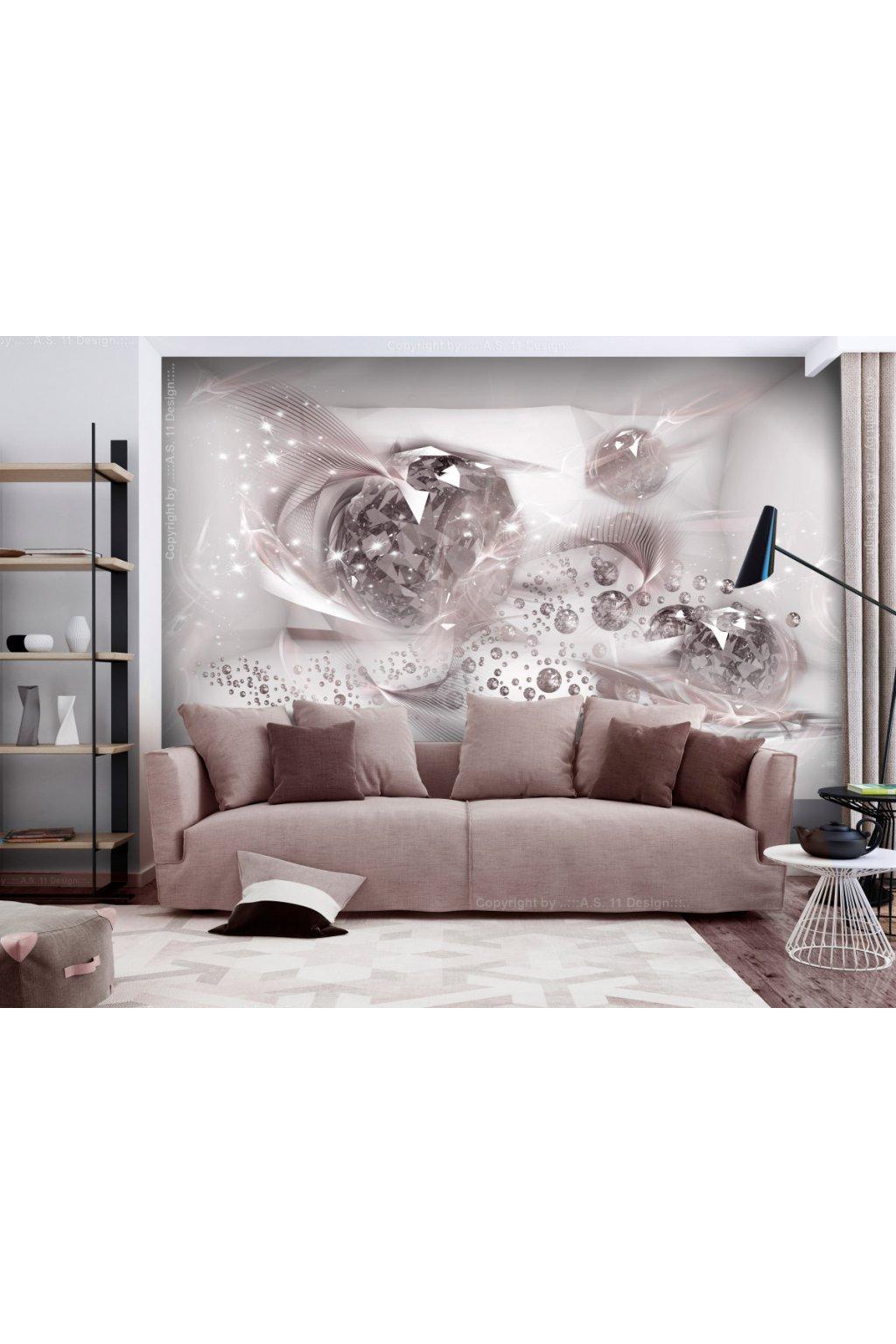 Murando DeLuxe Tapeta láskyplná abstrakce  - zvìtšit obrázek
