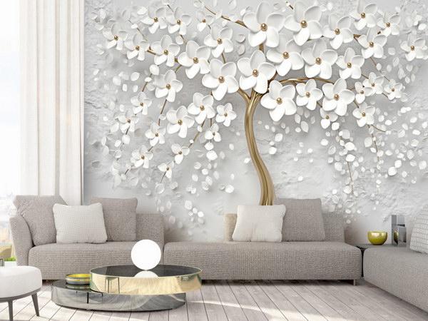 Murando DeLuxe 3D tapeta bílý strom  - zvìtšit obrázek
