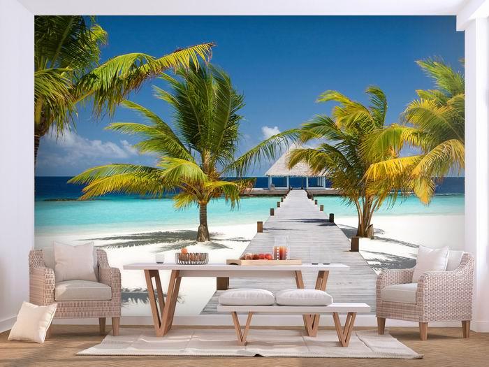 Murando DeLuxe 3D tapeta Maledivy  - zvìtšit obrázek