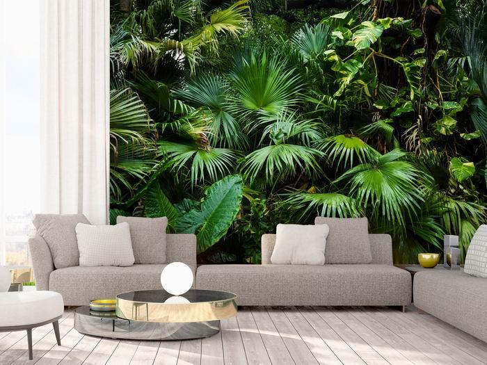 Murando DeLuxe Tapeta Zelená džungle  - zvìtšit obrázek