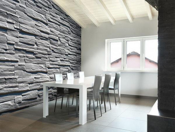 Murando DeLuxe Tapeta šedý kámen  - zvìtšit obrázek