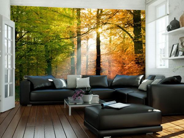Murando DeLuxe Fototapeta podzimní zabarvení  - zvìtšit obrázek