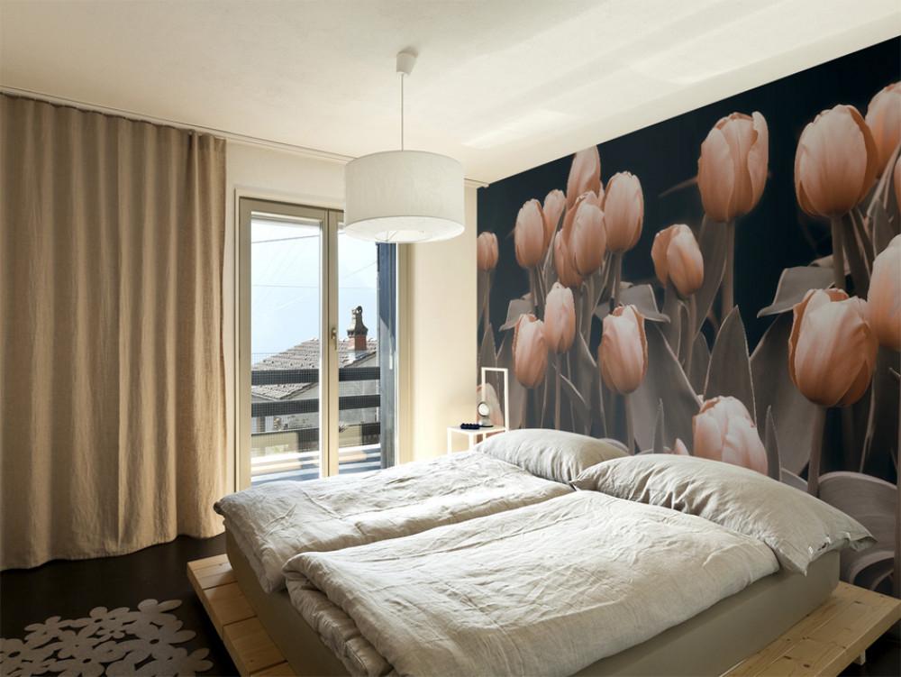 Murando DeLuxe Tapeta s tulipány  - zvìtšit obrázek