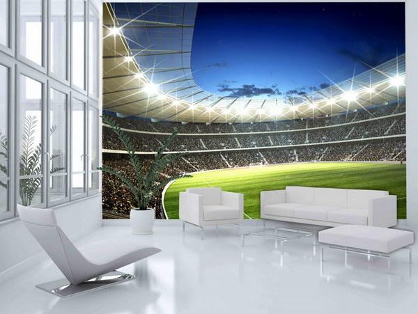 Murando DeLuxe Fototapeta- stadion  - zvìtšit obrázek