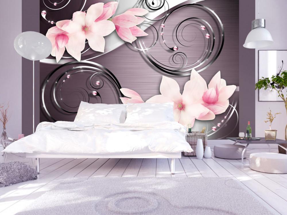 Murando DeLuxe Tapeta rùžová magnolie  - zvìtšit obrázek