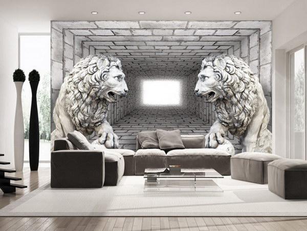Murando DeLuxe Tapeta lví strážci II  - zvìtšit obrázek