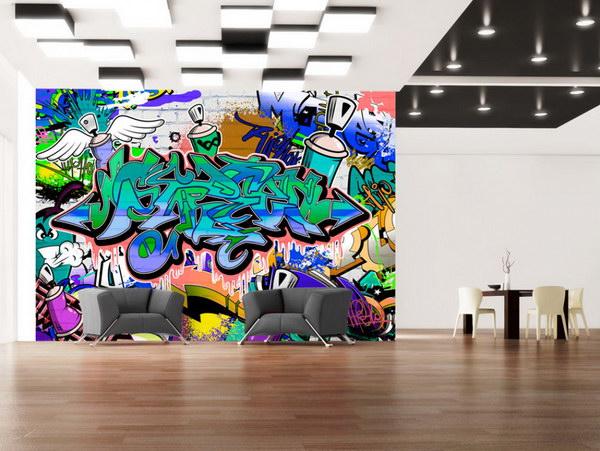Murando DeLuxe Fototapeta barevné graffiti  - zvìtšit obrázek