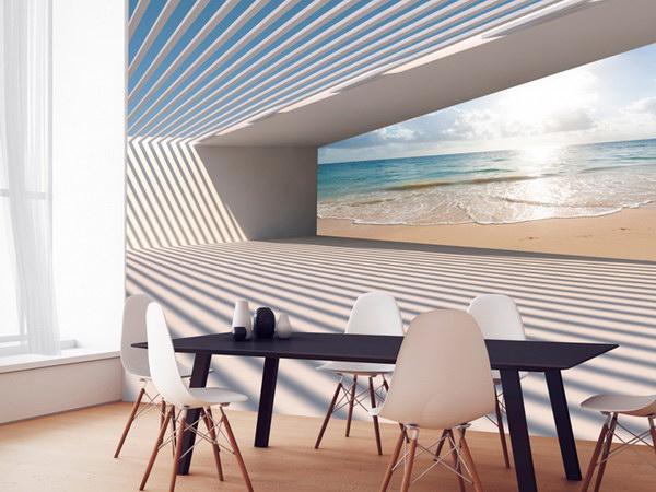 Murando DeLuxe 3D tapeta - Cesta k pláži  - zvìtšit obrázek