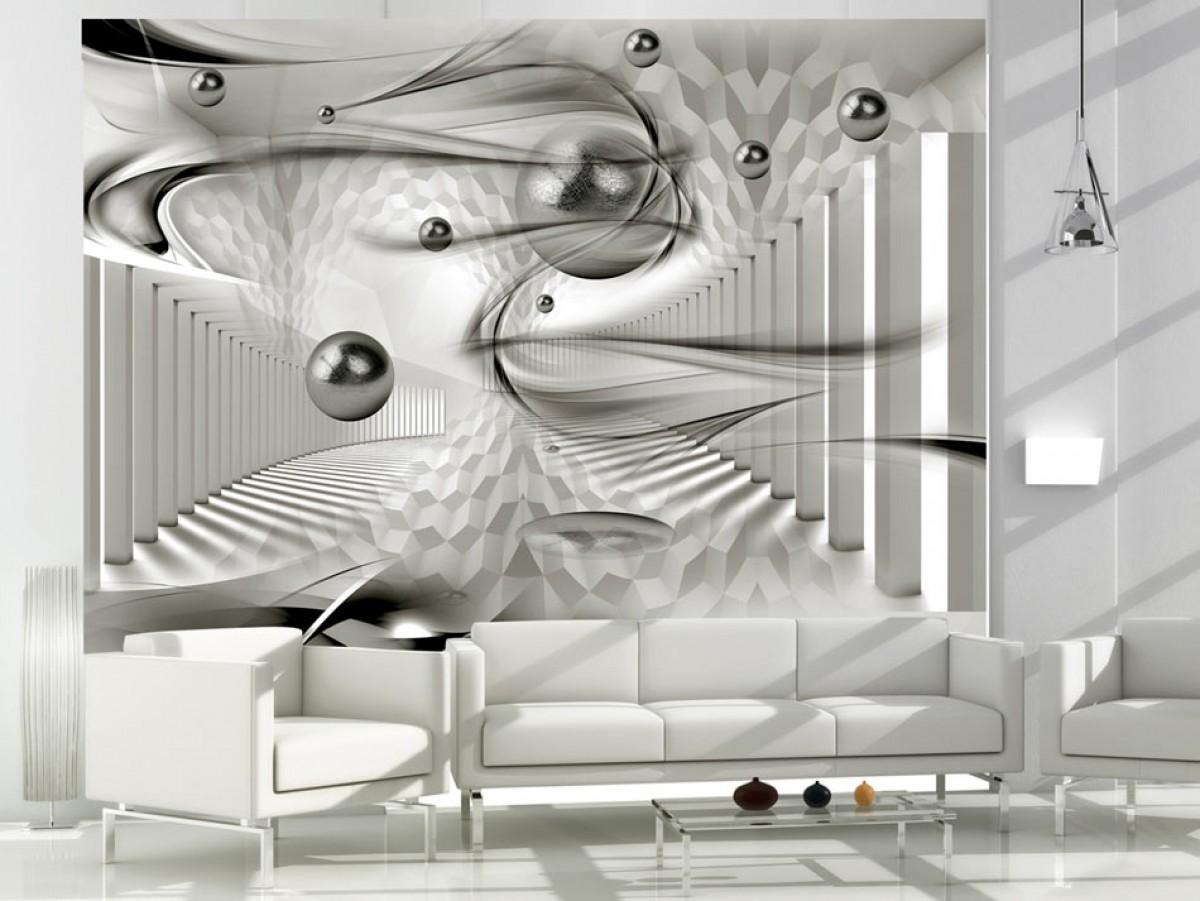 Murando DeLuxe 3D tapeta - Víøivá geometrie  - zvìtšit obrázek